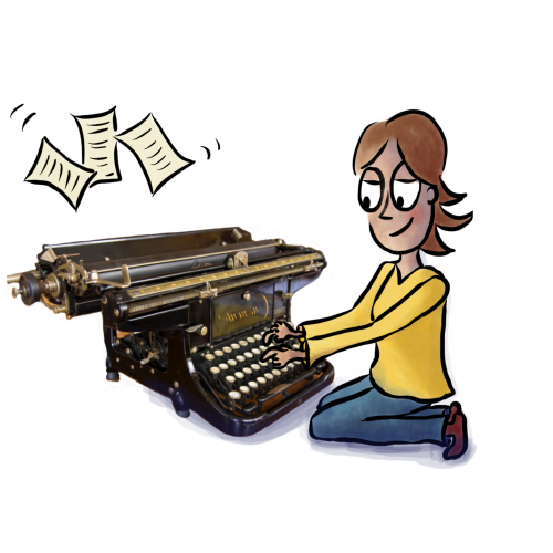 Typewriter Alice